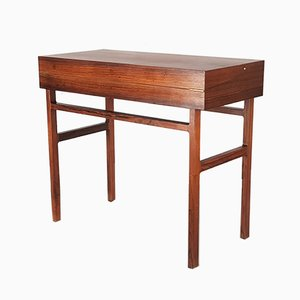 Mid-Century Rosewood Desk by A.B. Madsen & E. Larsen for Willy Beck