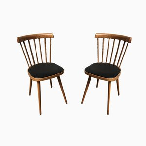 Model 740 Dining Chairs from Baumann, 1950s, Set of 2