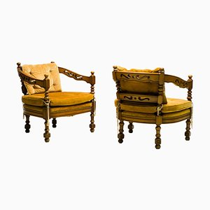 Armchairs from Giorgetti, 1970s, Set of 2