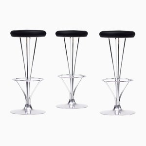 Stools by Piet Hein for Fritz Hansen, 1970s, Set of 3