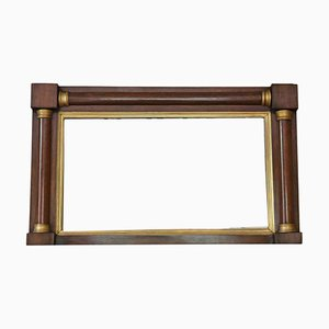 Antique Mahogany and Gilt Overmantle or Wall Mirror, 1820s