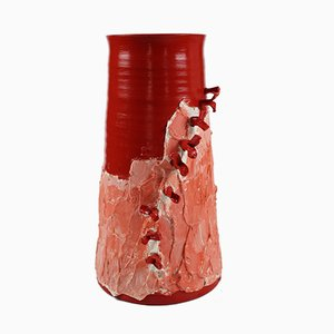 Vaso nr. 33 in terracotta di Mascia Meccani per Meccani Design, 2019