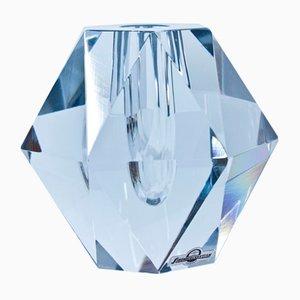 Schwedische Kristallvase von Asta Strömberg für Strömbergshyttan, 1950er