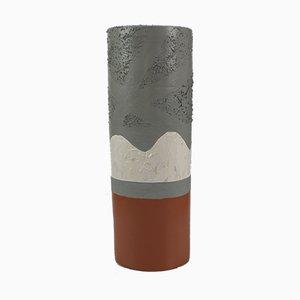 Vase 36 aus Terrakotta von Mascia Meccani für Meccani Design, 2019