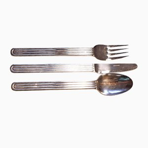 Sunday Cutlery Set by Big Game for Ikea, 1970s, Set of 18