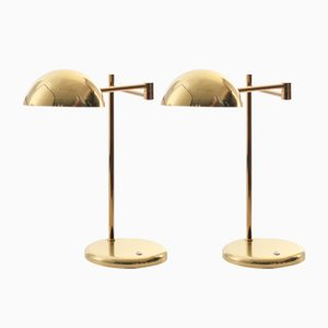 Scandinavian Modern Table Lamps from Örsjö Industri AB, 1980s, Set of 2
