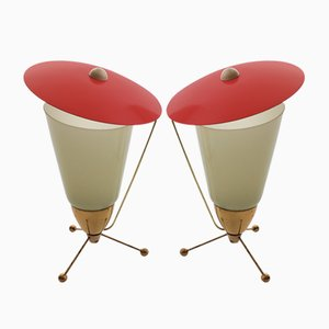 Table Lamps by Stanislav Kucera for Kamenický Šenov, 1960s, Set of 2