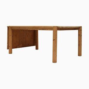 Erweiterbarer Tisch aus Kiefernholz von Rainer Daumiller für Hirtshals Sawmill, 1970er