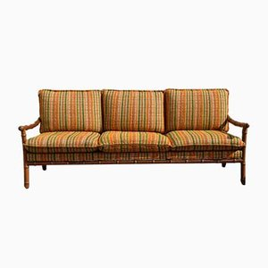 3-Seat Solid Wood Sofa from Walter Knoll / Wilhelm Knoll, 1960s
