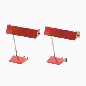 Lampes de Bureau par Josef Hurka, années 60, Set de 2