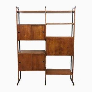 Mid-Century Italian Modular Shelf, 1960s