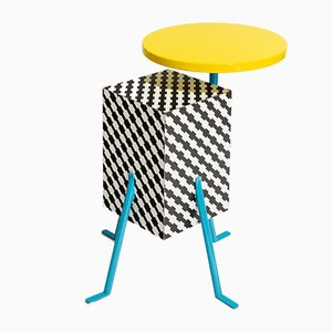 Vintage Kristall Side Table by Michele De Lucchi for Memphis
