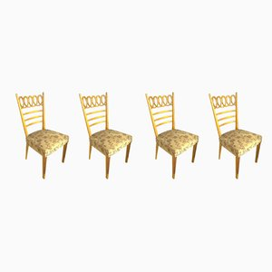 Dining Chairs by Osvaldo Borsani, 1940s, Set of 4