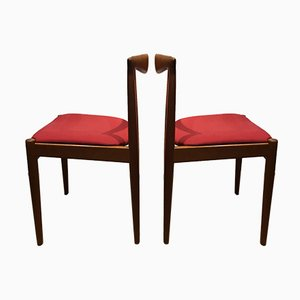 Vintage Dining Chairs by Arne Vodder for Vamo, 1960s, Set of 2