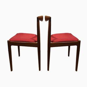 Vintage Esszimmerstühle von Arne Vodder für Vamo, 1960er, 2er Set