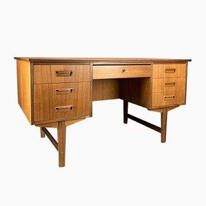 Moderner Schreibtisch aus Teak im skandinavischen Stil, 1960er