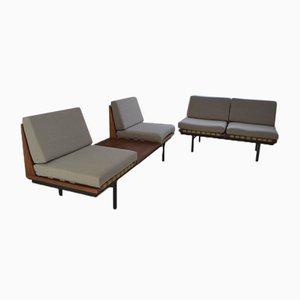 Modular Teak Sofa Living Room Set by Robin Day for Hille, 1960s