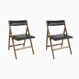 Chaises de Salon Eden par Gio Ponti, années 50, Set de 2