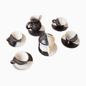 Kaffeeservice von Luc de Vallauris, 1950er