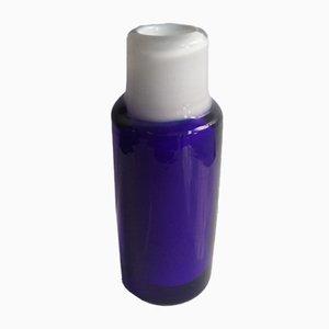 Jarrón de cristal de Murano azul, años 60