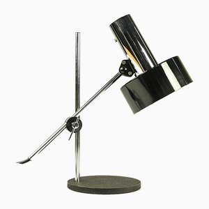 Chrome Table Lamp from Helo Leuchten, 1960s