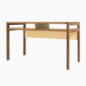 Beech Desk by André Sornay, 1960s