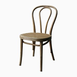 Vintage Bentwood Cane Dining Chairs, 1970s, Set of 2