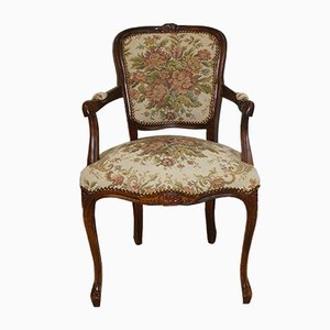 Vintage Baroque Style Armchair, 1960s
