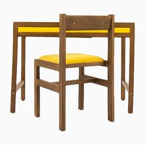 Set aus Schreibtisch & Stuhl von André Sornay, 1960er