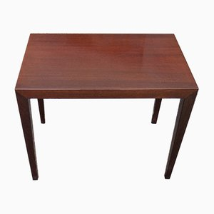 Mid-Century Mahogany Side Table by Severin Hansen, 1960s