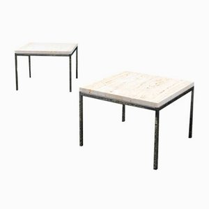Mid-Century Side Tables by Florence Knoll Bassett for Knoll International, Set of 2