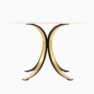 Tavolo da pranzo T69 in marmo di Osvaldo Borsani per Tecno, anni '60