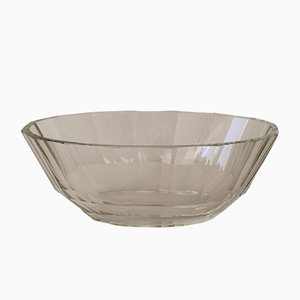 Vintage Art Deco Glass Bowl, 1920s