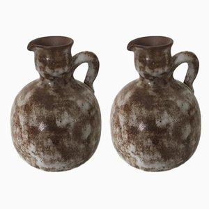 Mid-Century Vases by Kostanda Alexandre for Kostanda, Set of 2