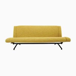 Canapé D70 par Osvaldo Borsani pour Tecno, années 50
