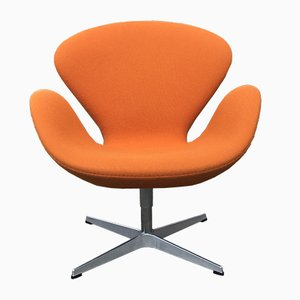 Swan Swivel Chair by Arne Jacobsen for Fritz Hansen, 2000s