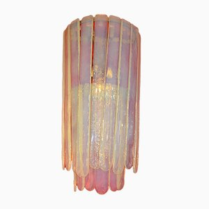 Opaline Glass Sconces by Carlo Nason for Mazzega, 1972, Set of 2
