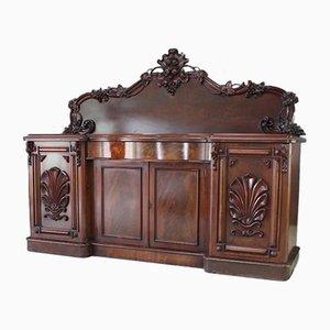Large Antique Mahogany Sideboard