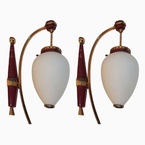 Mid-Century Sconces from stinovo, 1950s, Set of 2