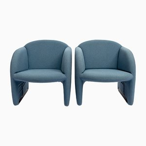 Ben Club Chairs by Pierre Paulin for Artifort, 1970s, Set of 2