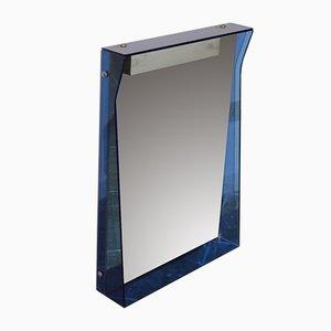 Italienischer Vintage Spiegel von Fontana Arte, 1970er