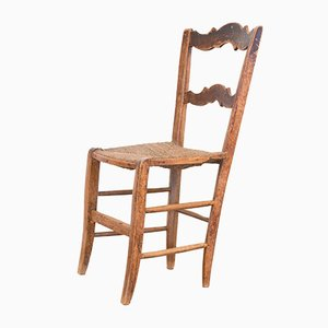 Antique Rustic Dining Chair
