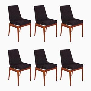 Chaises de Salon Hamilton Mid-Century par Robert Heritage pour Archie Shine, Set de 6