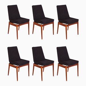 Mid-Century Hamilton Dining Chairs by Robert Heritage for Archie Shine, Set of 6