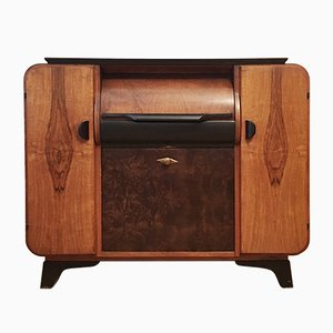 Record Player Cabinet by Jindřich Halabala for UP Závody, 1930s