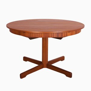 Round Extendable Dining Table from McIntosh, 1960s