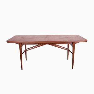 Mesa de comedor extensible de teca de Robert Heritage para Archie Shine, años 60