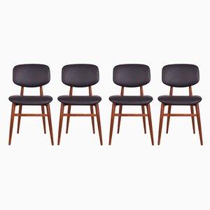 Chaises de Salon par Poul Hundevad pour Hundevad & Co., années 60, Set de 4