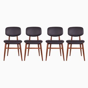 Esszimmerstühle von Poul Hundevad für Hundevad & Co., 1960er, 4er Set