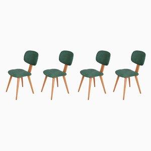 Polnische 5827 Esszimmerstühle von Fameg Radomsko, 1970er, 4er Set